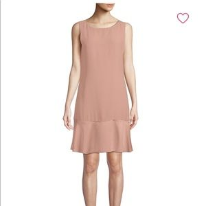 Theory Blush Flare Dress